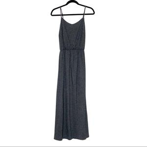 GAP Gray Maxi Dress With Adjustable Straps  XSmall